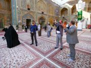 Netherlands' Ambassador to Iraq: Visiting Imam Ali's (A.S) shrine is a great honor for me+Photos