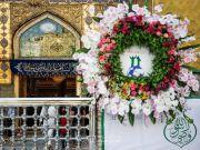 Photos: Imam Ali holy shrine decorated with flowers on the eve of Eid al-Ghadir