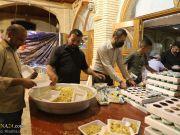 Fotos: Sirviendo a los peregrinos de Arbaín en la mezquita de Al-Sahla en Kufa