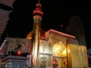 """La atmósfera del Santuario del Imam Alí (P) en vísperas del aniversario del fallecimiento del Santo Profeta (Bpd)"""""""
