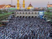 Photos: Dua Arafah at Imam Hussain holy shrine, Karbala