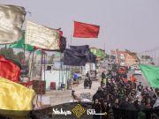 Fotos: Marcha de Arbaeen; los peregrinos se trasladan a Karbala