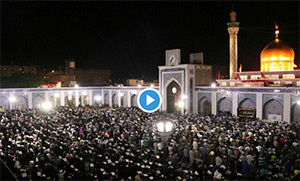 Mourning ceremony for Imam Ali (PUBH) held at Sayyidah Zaynab (AS) holy shrine (+Video)