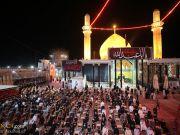 مراسم سالگرد تخریب گنبد حرم مطهر امامین عسکریین(ع) در سامرا