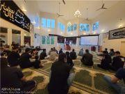عزاداری شیعیان آمریکا در مصیبت امام حسین (ع)